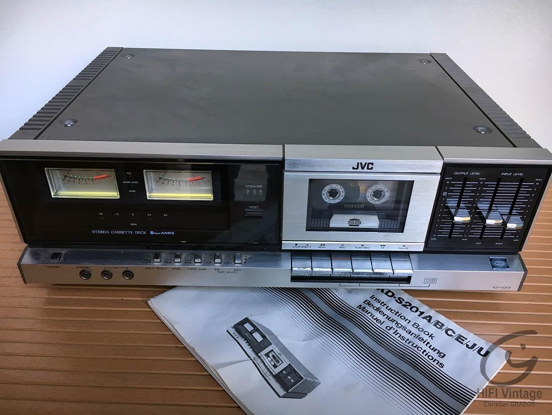 JVC KD-S201 Hifi vintage réparations