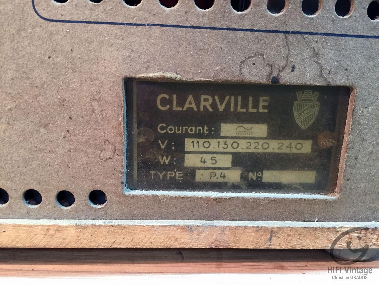 CLAREVILLE P-4