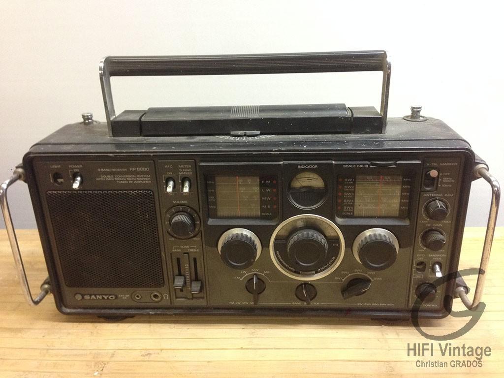 SANYO RP-8880 Hifi vintage réparations