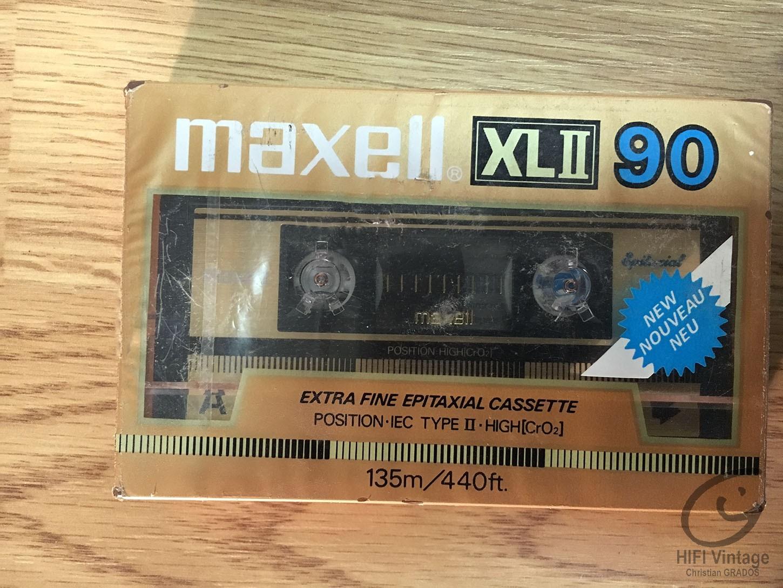 MAXELL UXL II-90 Gold Hifi vintage réparations