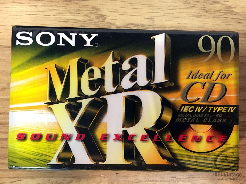 SONY XR-90 METAL Hifi vintage réparations