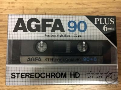 Hifi Vintage AGFA CRII-S-Superchrom HDX 90