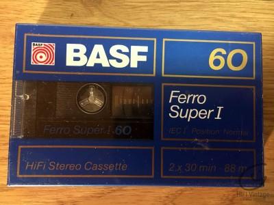 Hifi Vintage BASF Ferro Super I-60