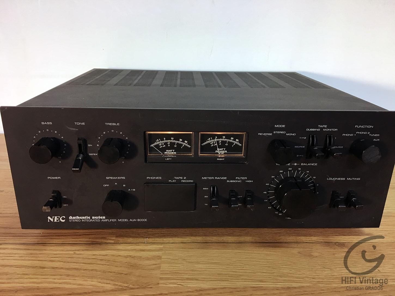 NEC AUA-8000E Hifi vintage réparations