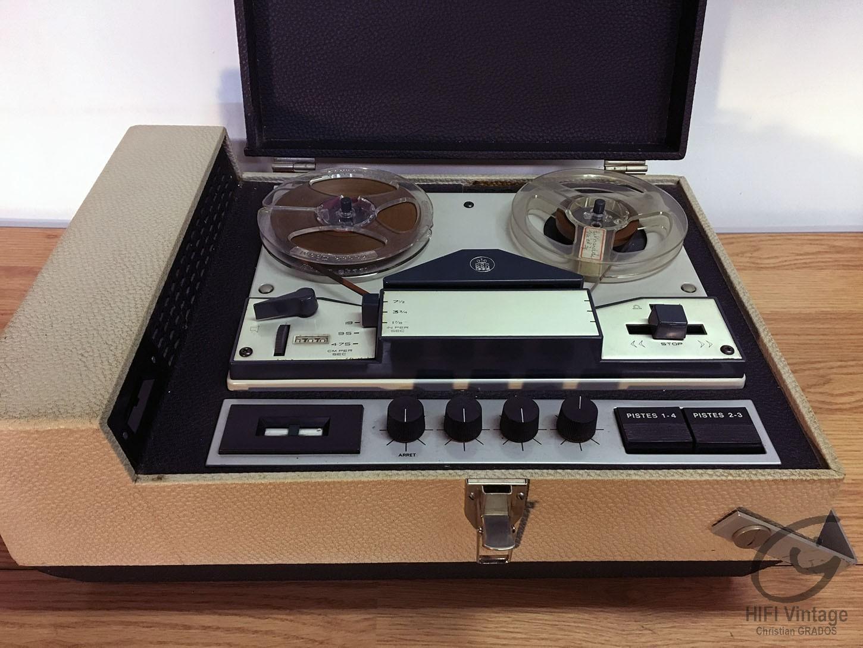 SCHNEIDER BSR Magnétophone Hifi vintage réparations