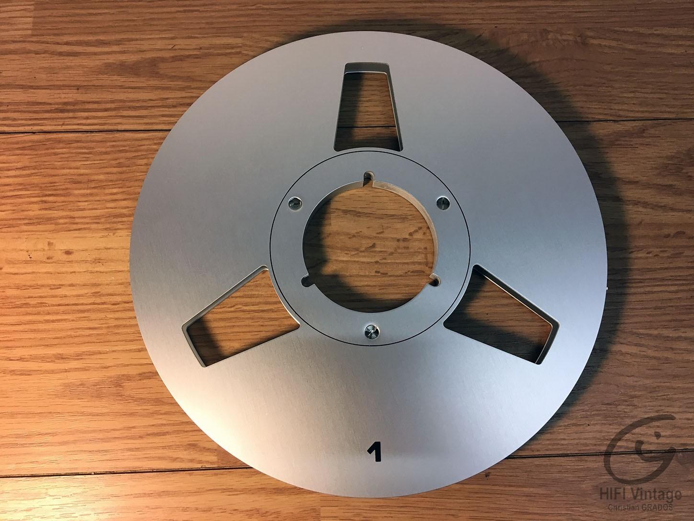 POSSO 10.5' NAB EMPTY METAL REEL Hifi vintage réparations