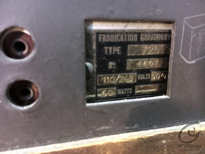 GRAMMONT Type 725