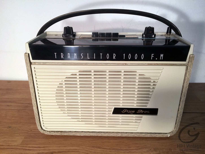 PIZON BROS Translitor 1000 FM Hifi vintage réparations