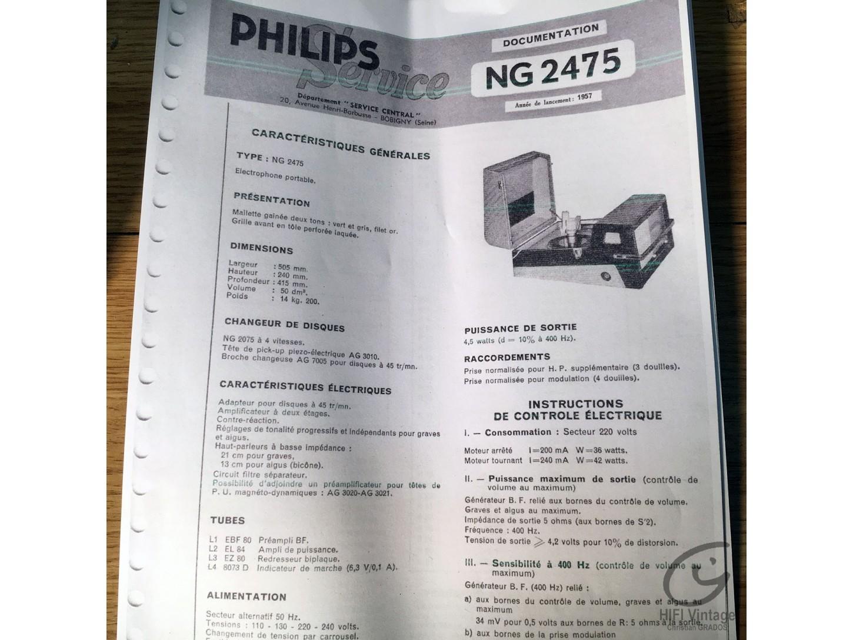 PHILIPS NG-2475