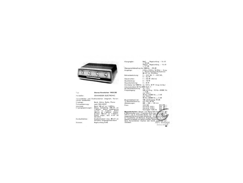 SENNHEISER VKS-203