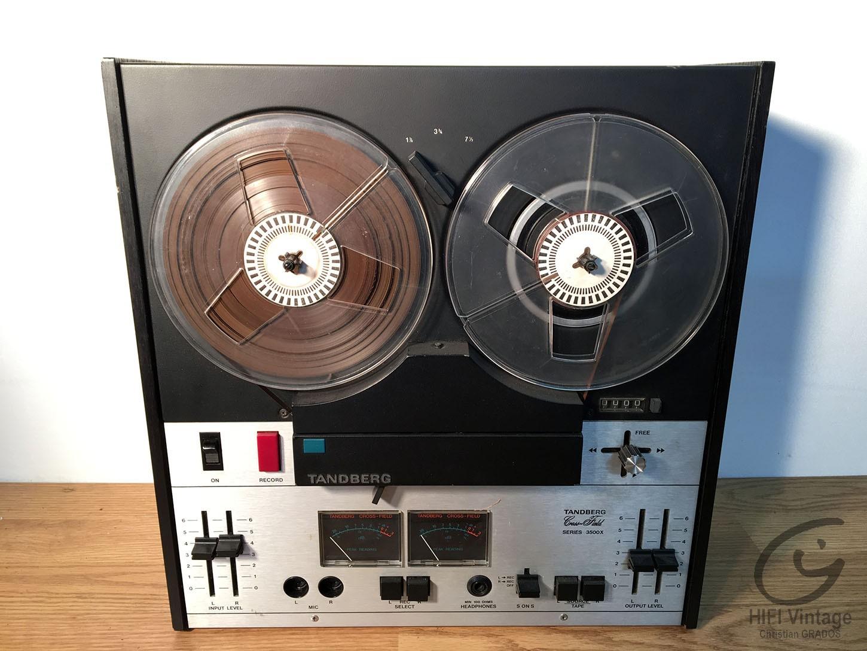 TANDBERG 3500X Hifi vintage réparations