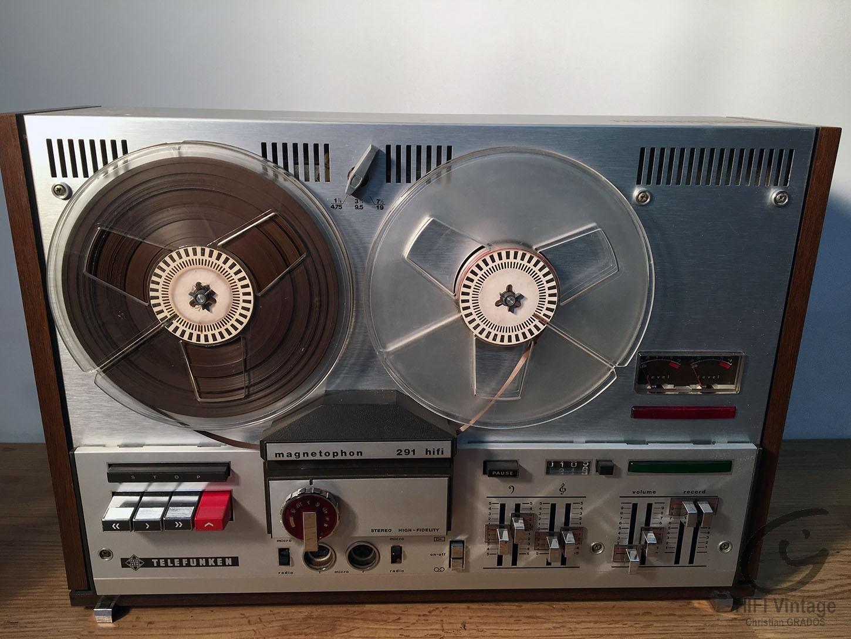 TELEFUNKEN M-291 Hifi vintage réparations
