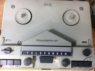 Hifi Vintage TELEFUNKEN Magnetophon 97