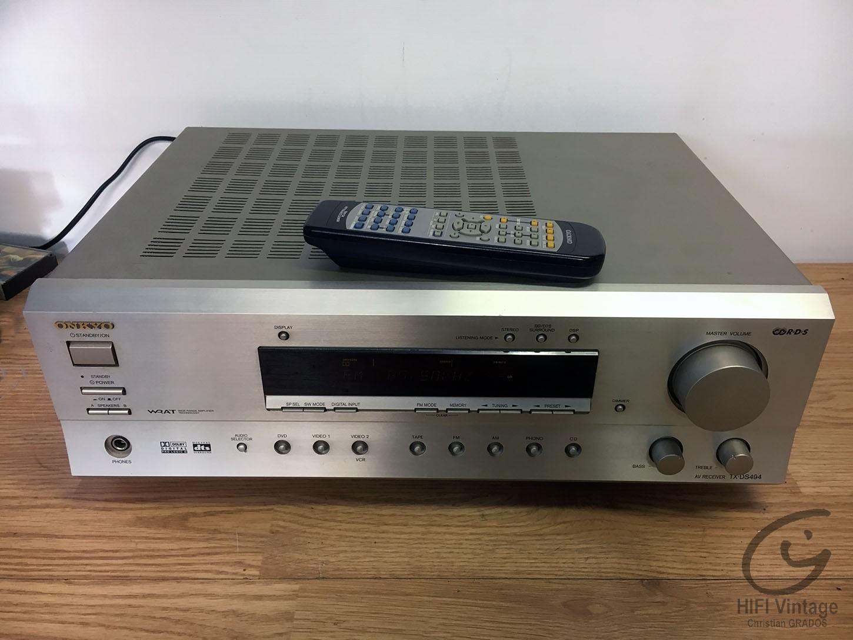 ONKYO TX-DS-494 Hifi vintage réparations