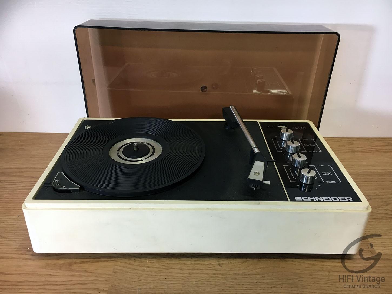 SCHNEIDER Age-31 Hifi vintage réparations