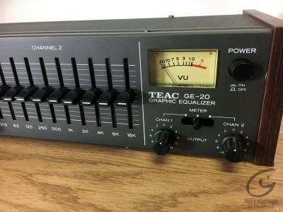 Hifi Vintage TEAC GE-20
