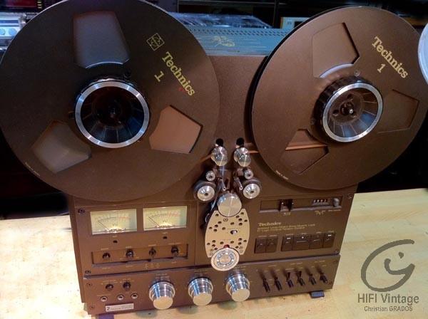 TECHNICS RS-1500 US Hifi vintage réparations