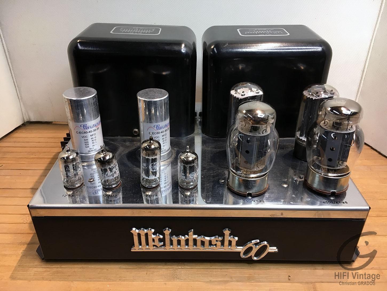 McINTOSH MC-60 Hifi vintage réparations