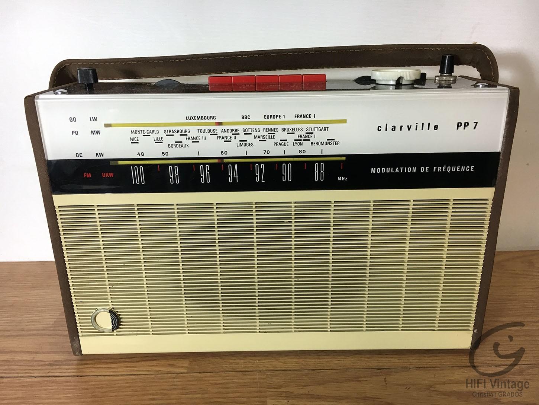 CLARVILLE PP-7 Hifi vintage réparations