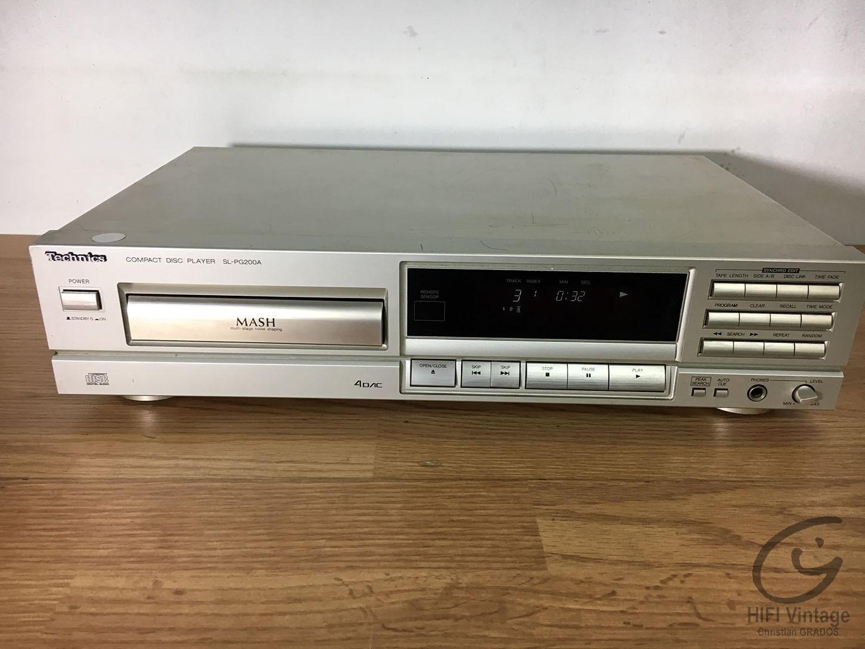 TECHNICS SL-PG600-A Hifi vintage réparations