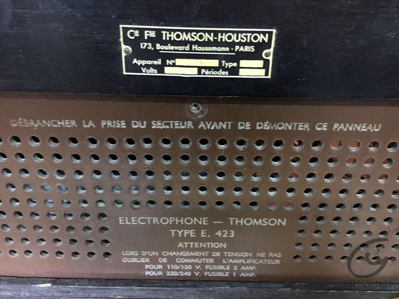 DUCRETE THOMSON HUSTON Type E 423