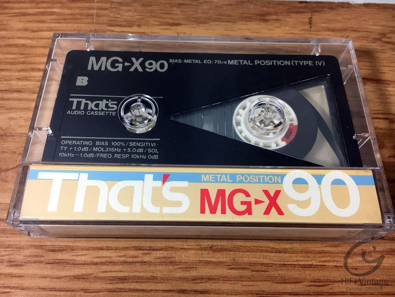 THATS MG-X90 Hifi vintage réparations
