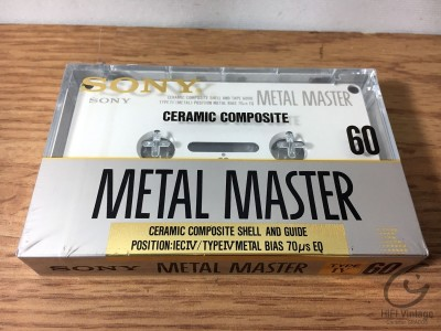 Hifi Vintage SONY Metal Master 60