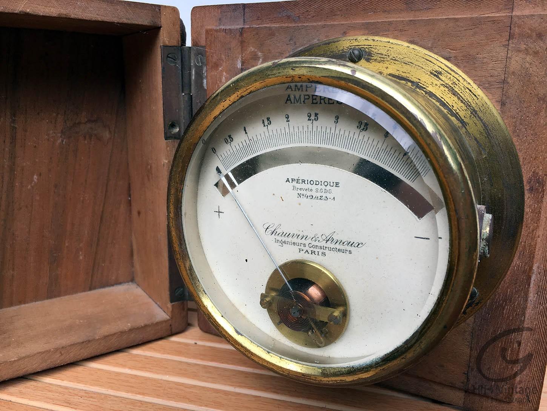 CHAUVIN ARNOUX amperemetre apériodique Hifi vintage réparations