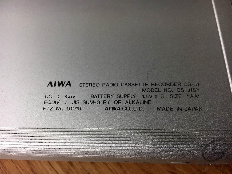 AIWA CS-J1