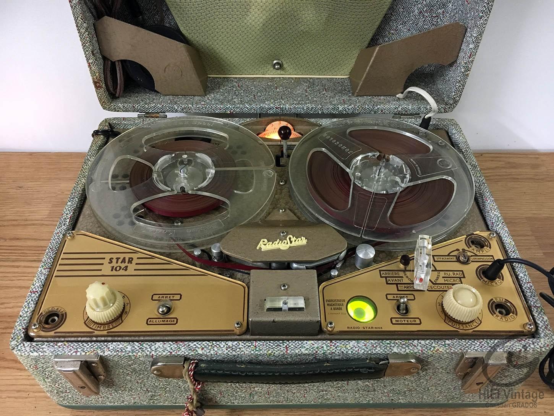 STAR 104 Magnétophone Hifi vintage réparations