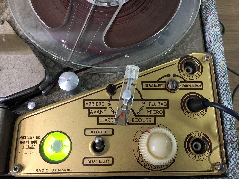 STAR 104 Magnétophone