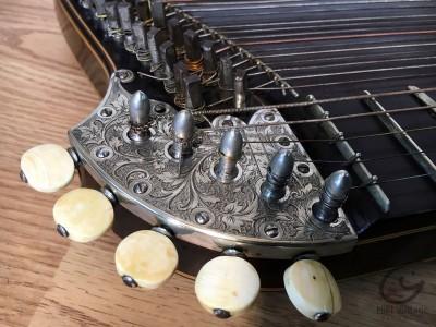 Hifi Vintage Cithare Alte Zither Discant  Consert Elegie Streichzither