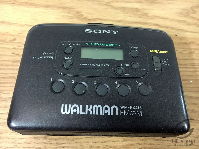 SONY WM-FX415 Hifi vintage réparations