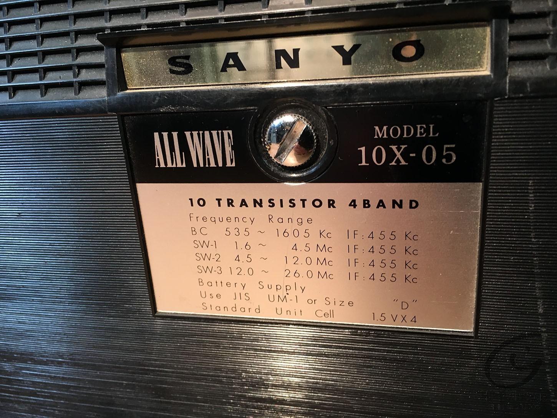 SANYO 10X-05
