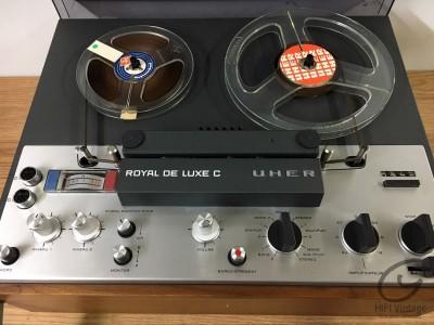 Hifi Vintage UHER Royal de Luxe C