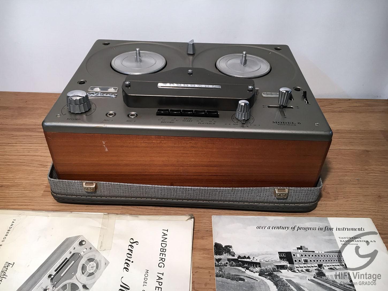 TANDBERG Model-6 Hifi vintage réparations