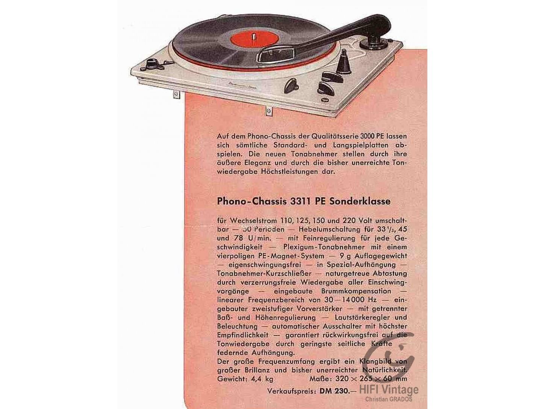 PERPETUM EBNER PE C-3311 Symphonie Sonderklasse