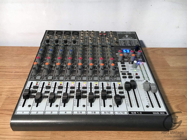 BEHRINGER XENYX-1622-FX Hifi vintage réparations