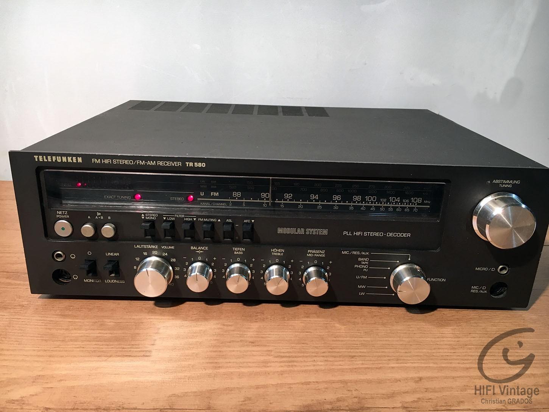 TELEFUNKEN TR-580 Hifi vintage réparations