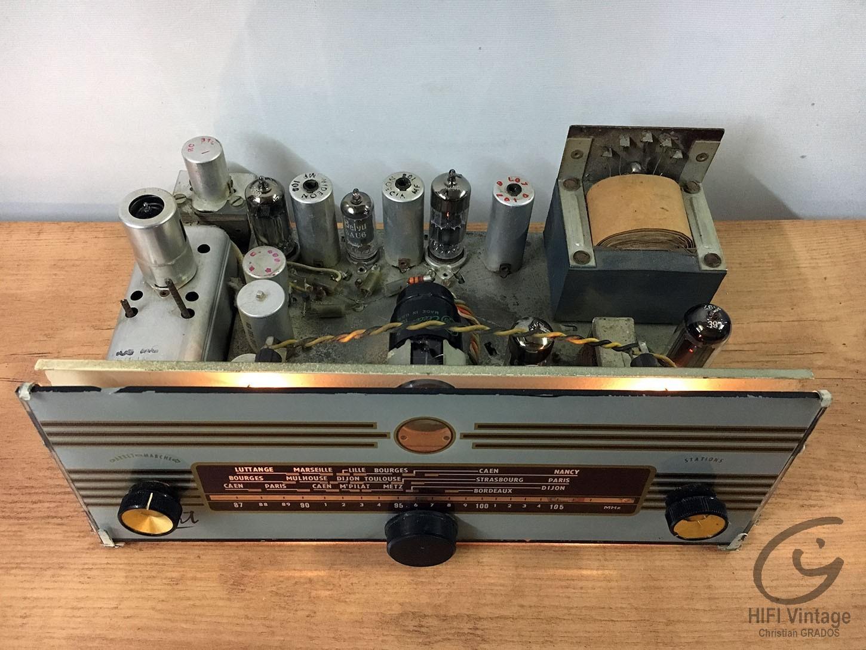 ESART FM 1961 Tubes Hifi vintage réparations