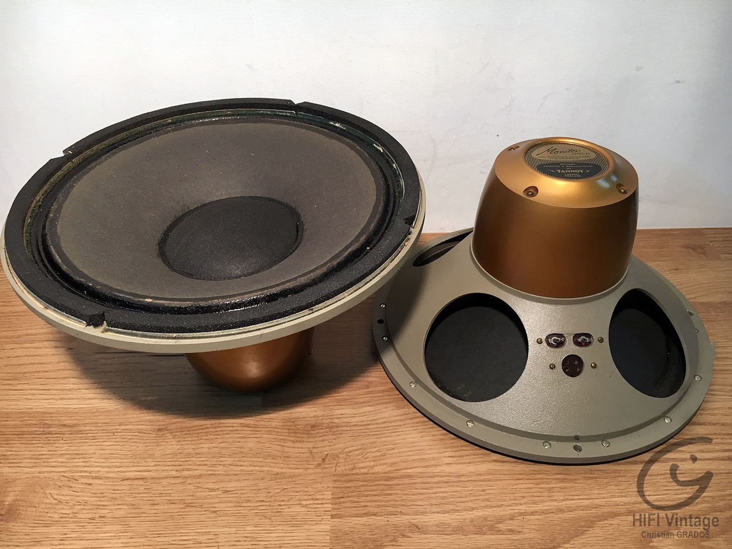 TANNOY Monitor Gold LSU HF 12-8 Hifi vintage réparations