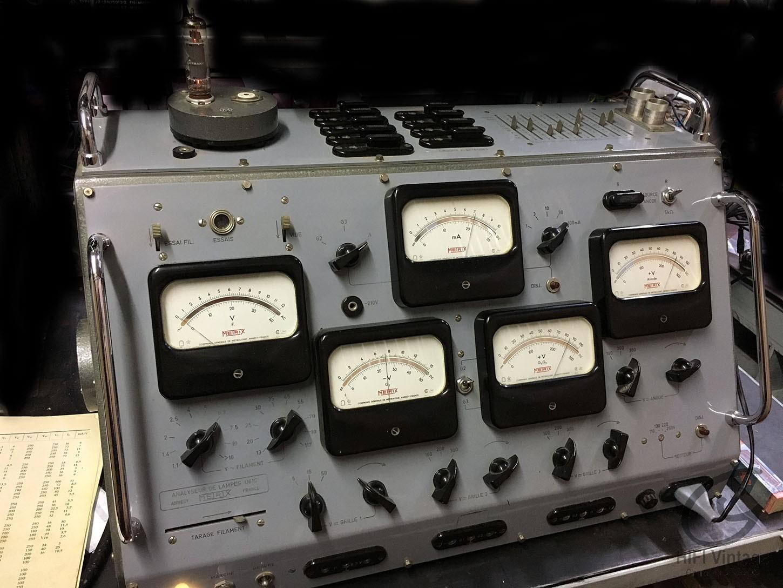 Metrix U-61-C Hifi vintage réparations