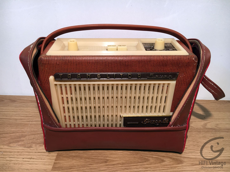 PIZON-BROS Translitor-seven Hifi vintage réparations