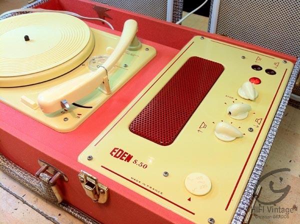 EDEN S-50 Hifi vintage réparations