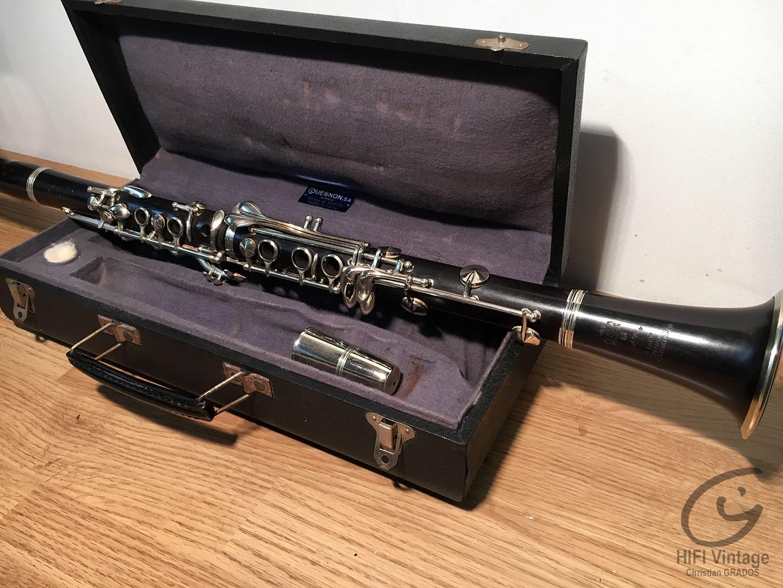 QUESNON Clarinette conservatoire Hifi vintage réparations