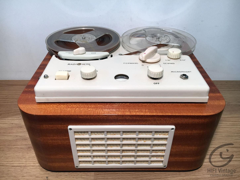 RADIONETTE B2 Magnetophon Hifi vintage réparations