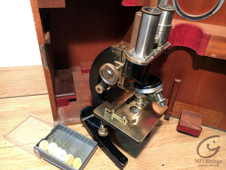 STIASSNIE Microscope binoculaire Hifi vintage réparations