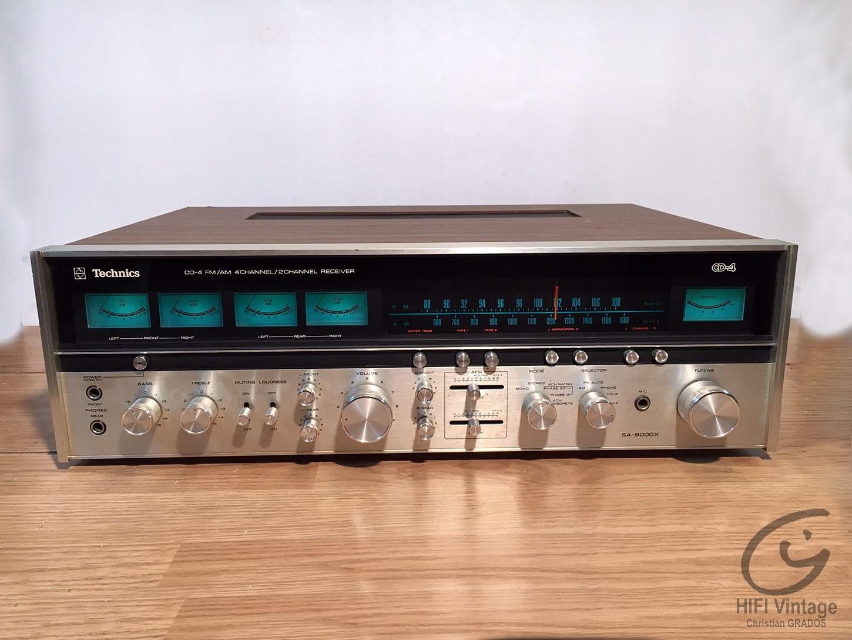 TECHNICS SA-8000-X Hifi vintage réparations