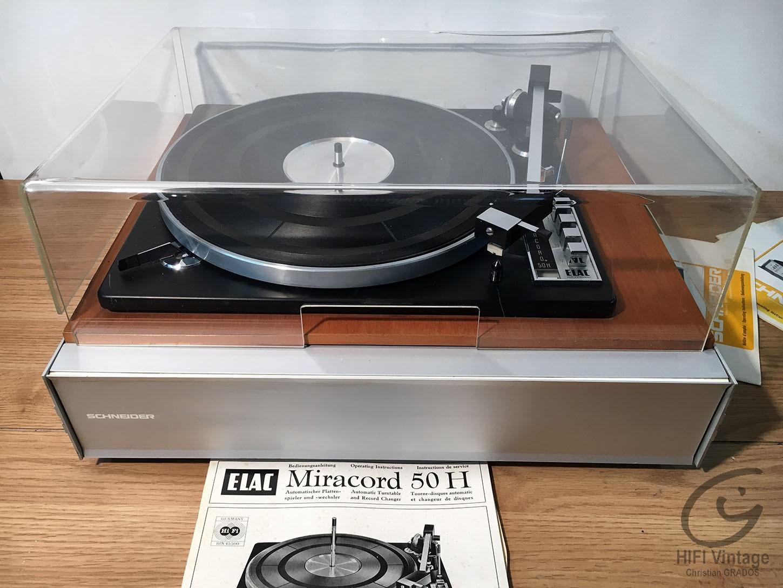 SCHNEIDER ELAC Miracor 50-H Hifi vintage réparations