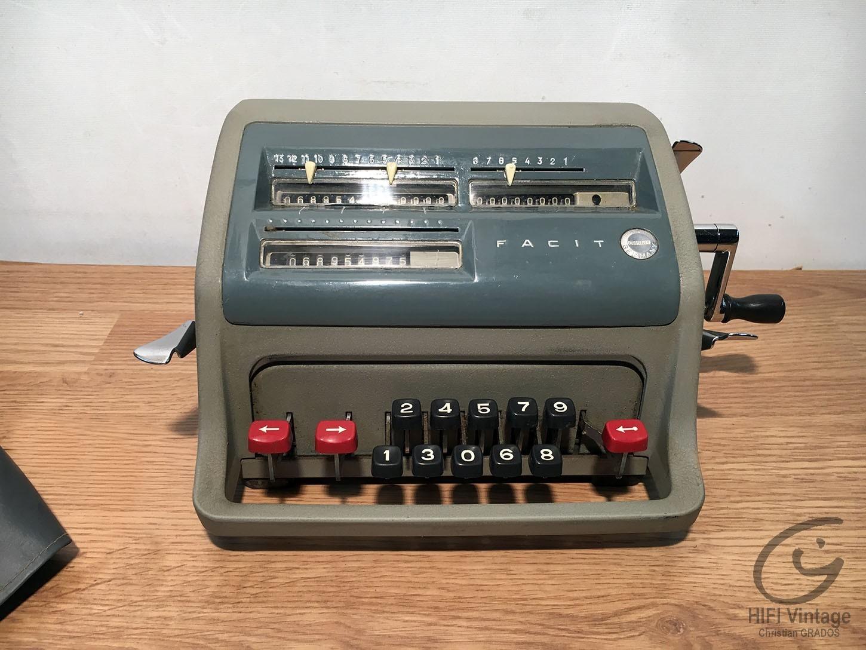 FACIT GMBH calculatrice mécanique C1-13